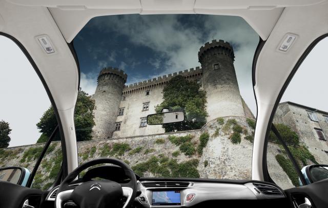Nový Citroen C3 - pohľad z okna