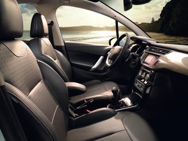 Nový Citroen C3 - predné sedadlo