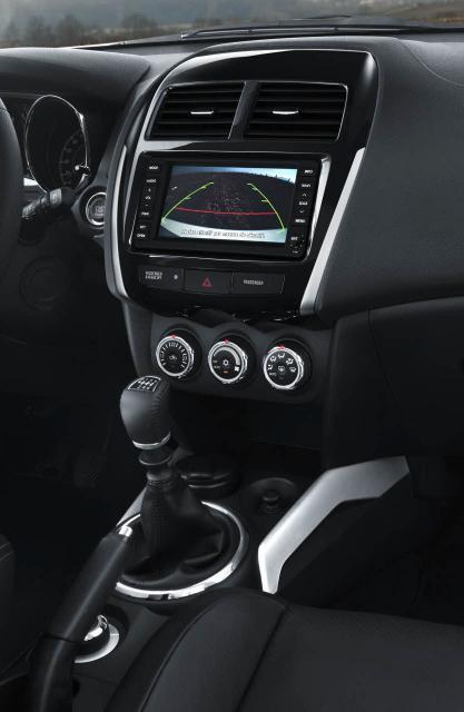 Citroen C4 Aircross - stredový panel