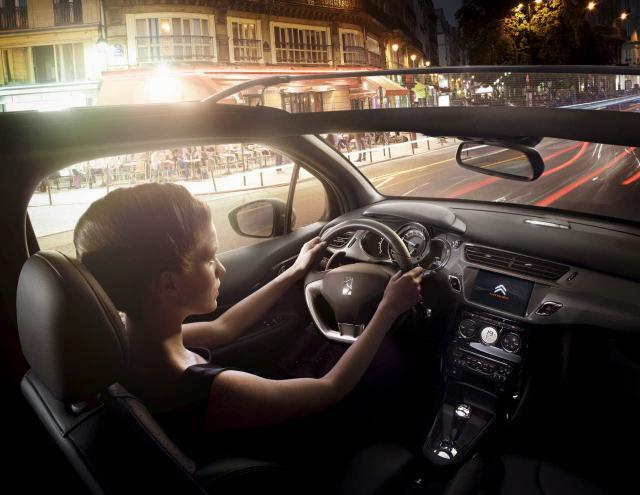 DS3 Cabrio interier