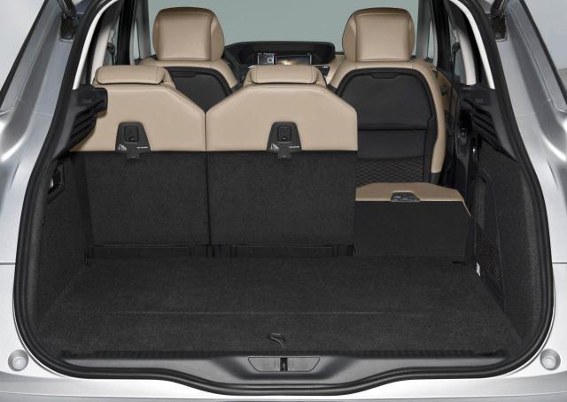 New C4 Picasso - batožinový priestor