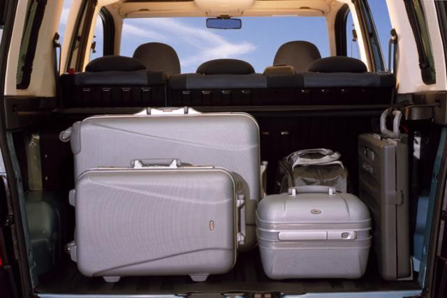 Batožinový priestor - Berlingo