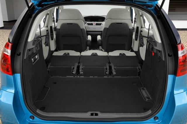 Batožinový priestor C4 Picasso - sklopené sedadlá