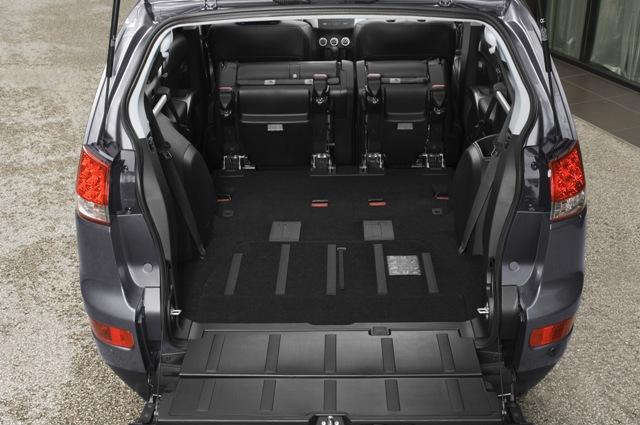 Batožinový priestor C-Crosser